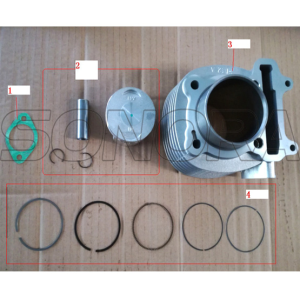 SCOMADI CYLINDER ASSY 150CC PERFOMANCE PARTS RACING PARTS BEFORE 2016 ORIGINAL QUALITY