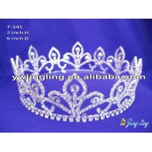 Wholesale Cheap Full Round Crowns Pageant Tiaras