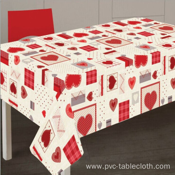 Elegant Tablecloth with Non woven backing Hire