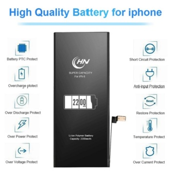 2200mAh batterie super capacité iphone 6s