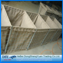Galfan as galvanized hesco barrier for military