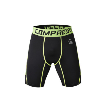 Europe style for Best Compression Gym Shorts, Mens Compression Running Shorts for Sale Custom design fitness elastic lightweight training shorts supply to Grenada Factories