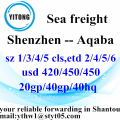 Shenzhen Sea Freight Shipping Agent to Aqaba