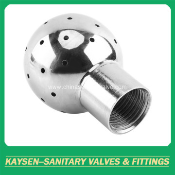 Sanitary Fixed cleaning ball female threaded