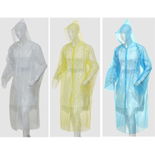 Outdoor Hiking Plastic Waterproof Disposable Raincoat