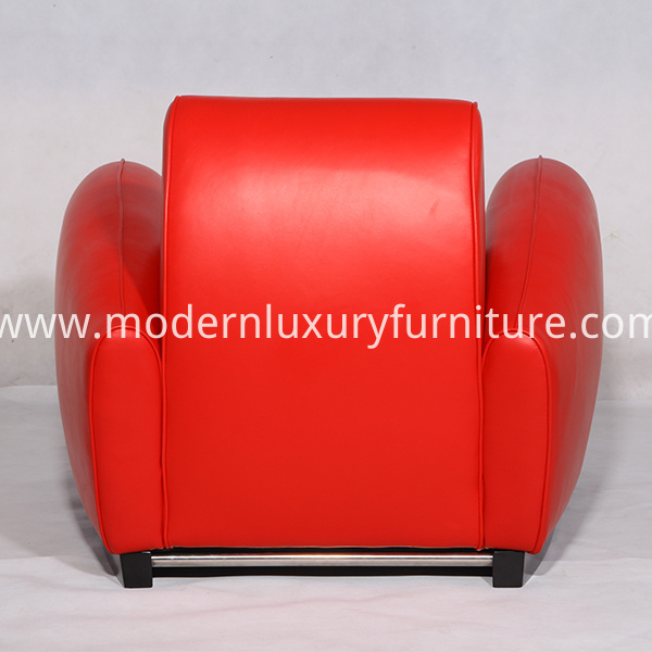 Leather Franz Romero Bugatti Armchairs Replica