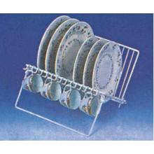 China for Supply Dish Drainer Rack, Stainless Steel Dish Rack, Kitchen Dish Rack from China Supplier Metal Dish Draining Rack supply to France Manufacturer