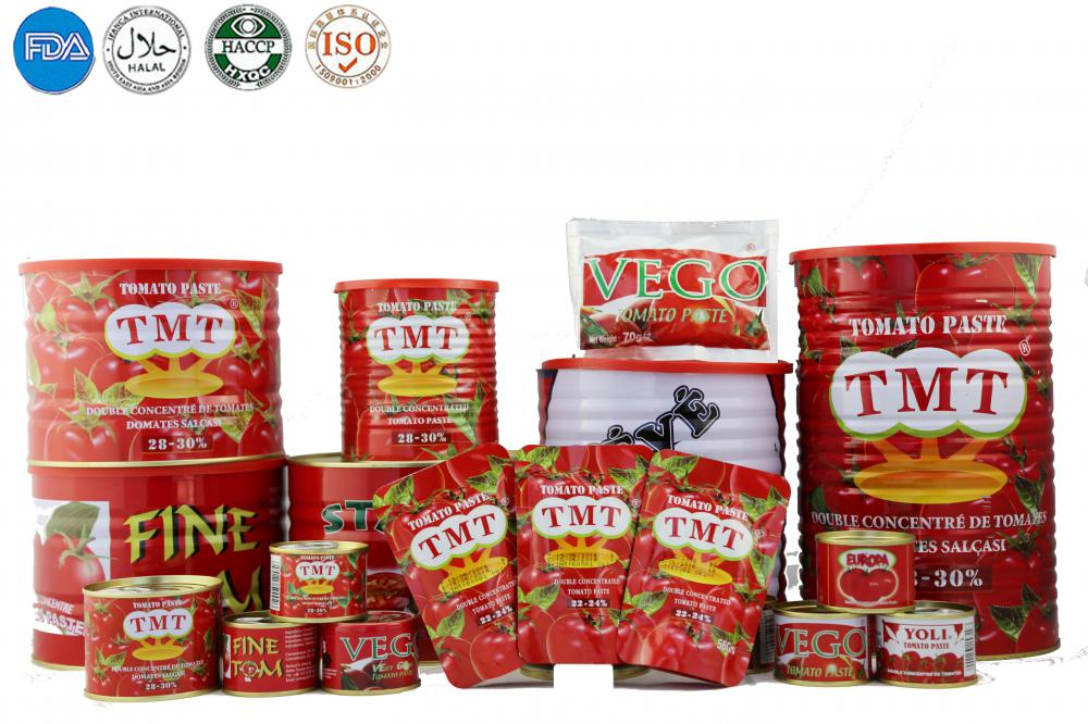 Tomato paste from Tomatoes in Dubai