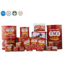canned tomato paste 28-30% 22-24 brix
