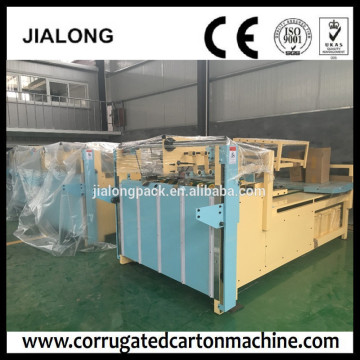Semi automatic folder gluer carton machine JIALONG