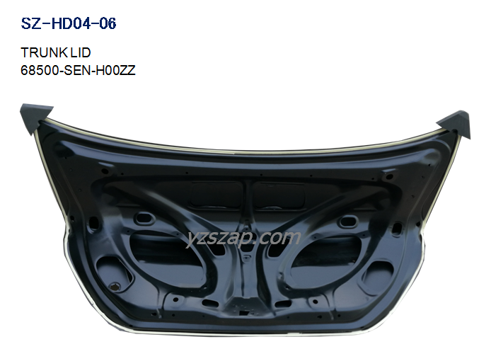 GD6 trunk lid inside