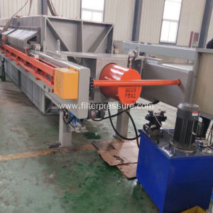 Sugar Syrup Plate Frame Filter Press Automatic Wash