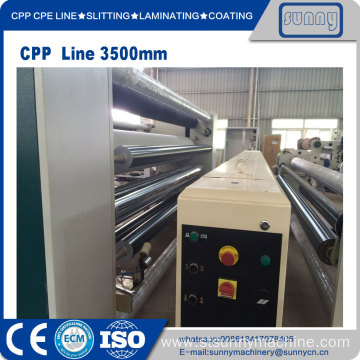 Fast Delivery for CPP Casting Film Machine CPP cast film line supply to Poland Manufacturer