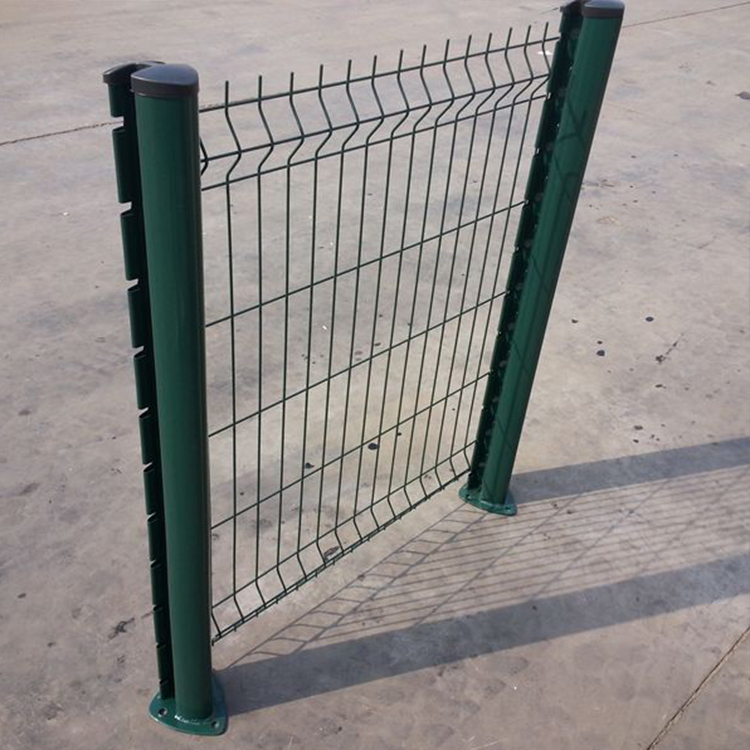 Bending Commercial Welded V Type Wire Mesh Fence