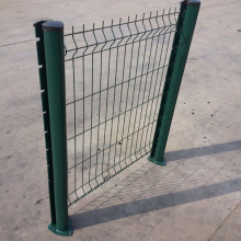 PVC Coated 3D Triangle Weld Wire Mesh Fence