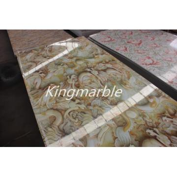 China Factories for Uv Pvc Marble Wall Table Top Panel PVC Marble Table Sheet With Good Price supply to Martinique Supplier