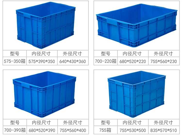 Plastic crate sample