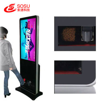55 inch Floor Standing shoe polisher player