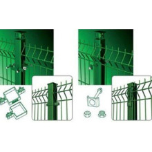welded wire mesh panel 3D welded curvy fence