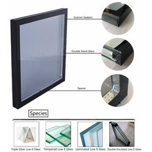6mm+6A+6mm Clear Double Glazing Glass