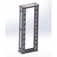 47U Open Rack Network Rack Cabinet