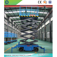 China for Automotive Scissor Lift 1.5t 14m Battery Powered Mobile Scissor Lift Platform supply to Brunei Darussalam Importers