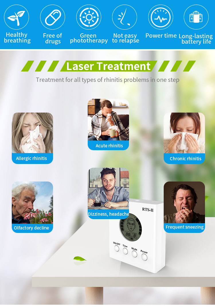 nasal laser therapy