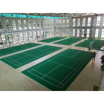 BWF Approved topmost sales badminton flooring