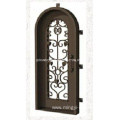 2019 Hot Sale Full Arch Iron Single Door