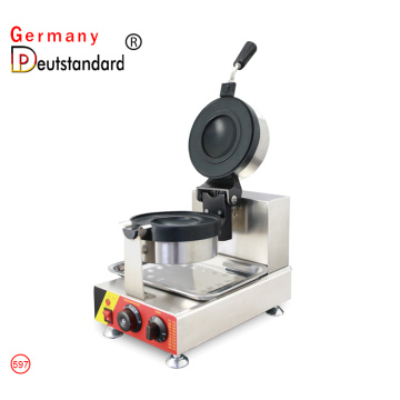 New product Ice cream hamburger waffle machine