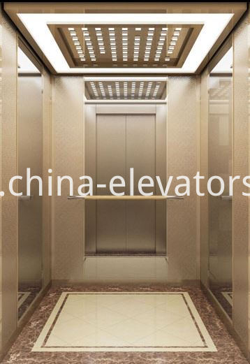 High-class Office Buildings Elevator Car Assembly