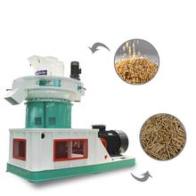 Energy saving wood pellet extruder machine