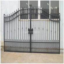 Art Iron Powdered Coated Garden Fence