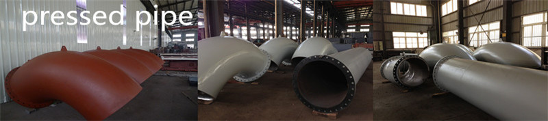 Custom Pressed Bend Pipes