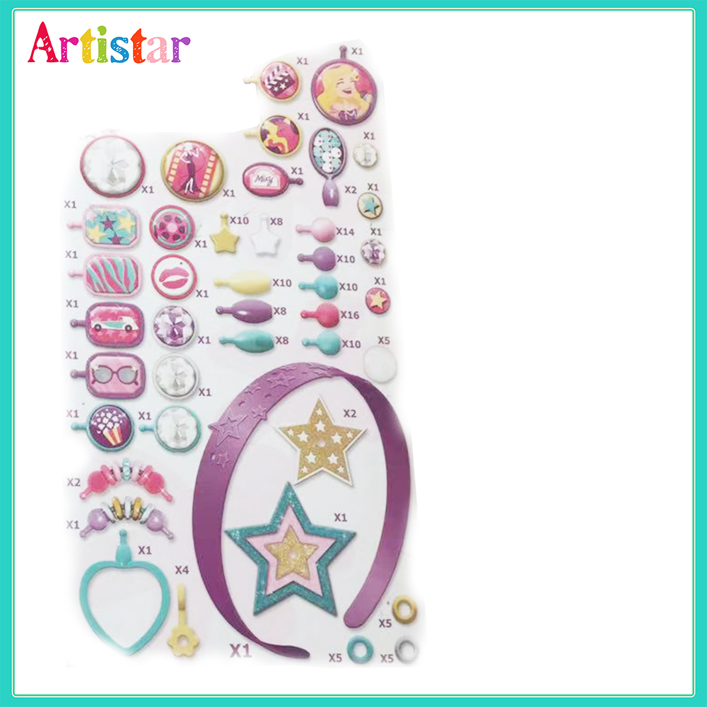 Mixy Candy Sweetness Diy Beads Craft For Kids