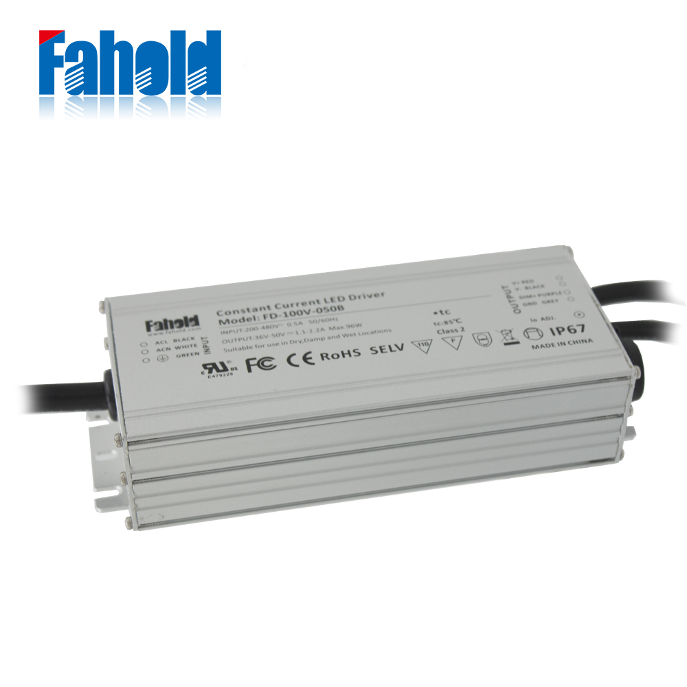 Dimmable 480Vac LED Driver