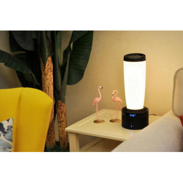 Smart multi-functional bedside lamp