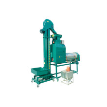 Seed Coating Machine With Elevator
