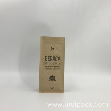 Kraft Paper Packaging Bag with Valve