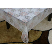 Printed pvc lace tablecloth by roll outdoor