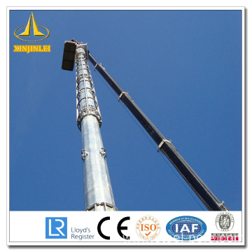 Best Quality for Factory of Steel Lighting Pole High Mast, 30m High Mast Pole, High Mast pole for stadium from China Galvanzied Steel High Mast Pole supply to Virgin Islands (U.S.) Supplier