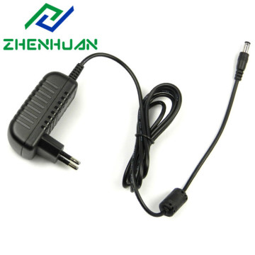 DC12v 1000ma charger plug in adapter 12w