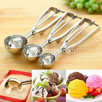 Stainless Steel Ice Cream Spoon Digging Ball Spoon