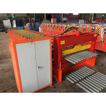 Corrugated Metal Roof Sheet Cold Forming Machine