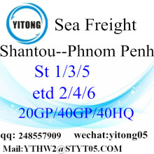 International Shipping Service to Phnom Penh