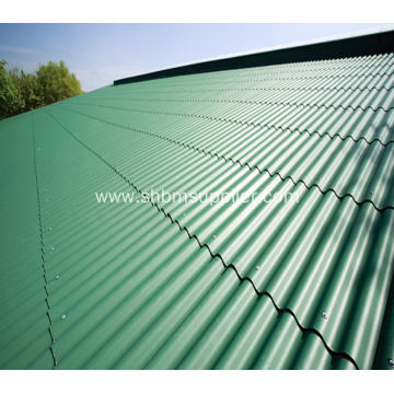 UV Blocking MgO Roofing Sheet Stronger Than Cement