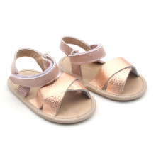 Wholesale  Leather Baby Sandal Skidproof Baby Shoes