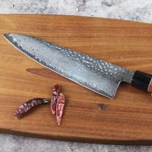 Damascus Chef Knife VG10 Super Steel Core