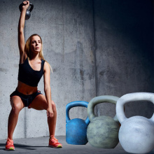 Tone Fitness Cast Iron Kettlebell