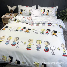 bedding set with cute design